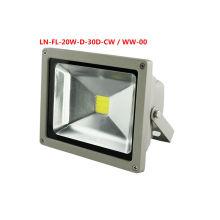 LED luz de inundación 20W 10-30V proyectores IP 65,3 años de garantía, 10-30V TUV, GS, CE, SAA, RCM y RoHS