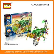 Loz Montage Bausteine Roboter elektrische diy Spielzeug