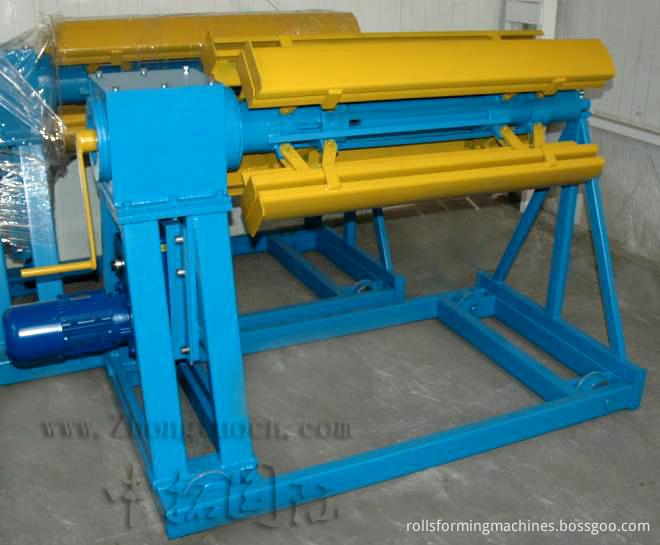 Aluminium Step Tiles Machine