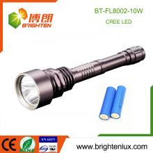 China Outlet Mult-functional 3 Modes Light Ultra Bright Emergency Aluminum Led Torch Handheld 10W Cree led flashlight sheath