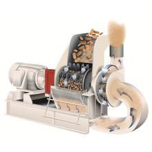 800 kg/h Holz Chips Hammermühle mit guter Qualität