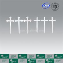 LUXES Grave marcadores Cruz de madeira barato baratos para cremação