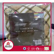Conjuntos de consolador atacado impressos com preço baixo, preço barato 1 Consolador de pc, 100% poliéster consolador