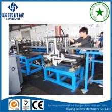Metal de la cuneta que forma la máquina