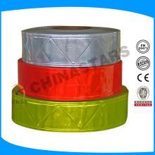Micro bande prismatique pvc ruban réfléchissant pour vêtements, vêtements, gilets, chemises