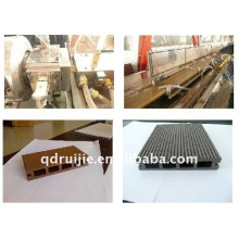 Wood plastic composite profile making machine