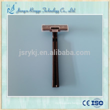 black colour ABS and stainless steel Medical razor