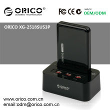 ORICO XG-2528US3-C Dual Bucht 2,5 '' HDD Docking Station, Features Klon Offline-Funktion