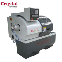 máquina de perfuração automática CK6132A cnc revólver torno máquina para processamento de metais