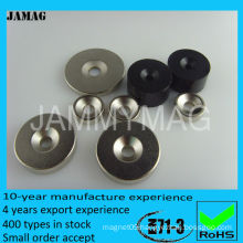 black epoxy coating neodymium magnets