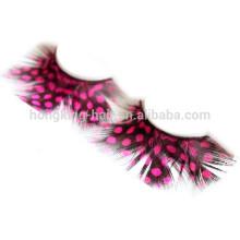 Премиум Оптовая extenion ресницы перо ресницы цветные наращивание ресниц