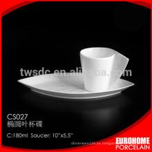 productos únicos 2016 de china blanco tazas de té baratos