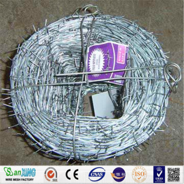 Hot Dip Galvanized Double Twist Barbed Wire
