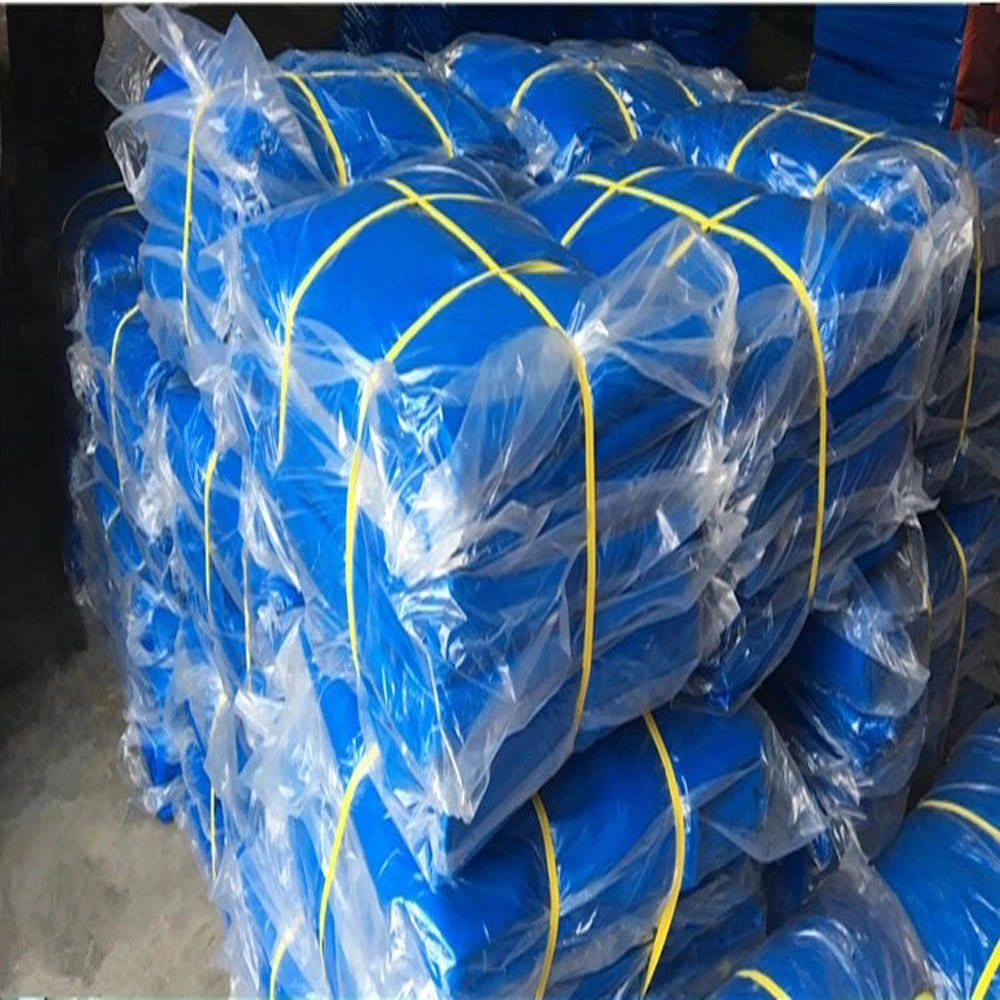 Tarpaulin Sheet Packed in Clear Polybag