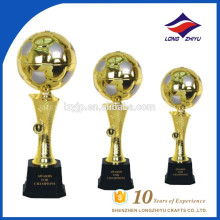 Factory already made Soccer ball trophy for sale