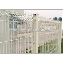 6/5/6mm wire high powder coated double wire fence
