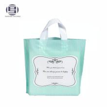 PE Plastic Loop Handle Bag, Soft Loop Handle Plastic Bag, Plastic Clip Loop Handle Bag