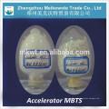 Agente de vulcanização de borracha MBT (CAS NO.:120-78-5) para esteira de borracha