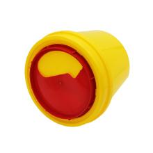 5L 10L gelber Behälter für scharfe Abfalleimer zum Einmalgebrauch