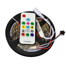 5M DC12V WS2811 IC 5050 SMD direccionable píxeles RGB led tira 30leds / m Dream Magic Color led píxeles de luz