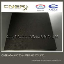 Gute Qualität 3K Kohlefaserplatte und Rohr von einem professionellen Kohlefaserhersteller