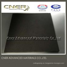 Placa y tubo de fibra de carbono 3K de buena calidad fabricados por un fabricante profesional de fibra de carbono