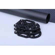 Placa inferior usinada em fibra de carbono de peças CNC