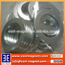 high performance thin ring nickle coated neodymium magnet for sale/N35 strong magnet for washer