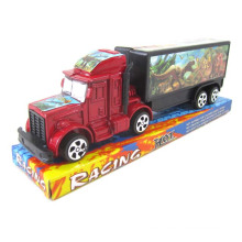 Popular Plastic Pull Back Container Truck (10221515)