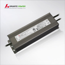 ETL FCC approved single output 200w 0-10v dimmable LED Driver 12v