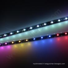 RGB multicolore UCS1903 led météore douche pluie tube éclairage étanche douche lumière 3d