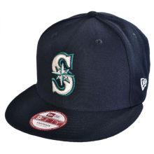 Seattle Mariners 9 Fifty Strapback Baseball Cap