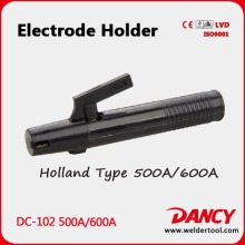 New design electrode holder holland type 500A / 600A code.DC-102