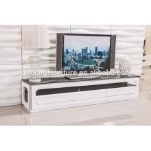 meuble TV haut de verre, meuble tv funky