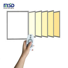 ceiling 40W SMD2835 isolated driver flicker free ultra thin slim recessed LED ceiling dimmable square led panel light