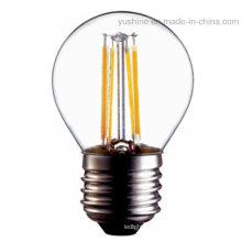 2W LED G45 bombilla de filamento con CE RoHS