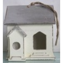 Luckywind Shabby Chic de alta calidad de madera sólida Birdhouse
