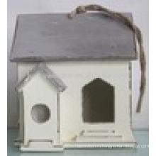 Luckywind Потертый Chic Высокое качество Твердые деревянные Birdhouse