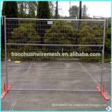 6ftx10ft Temp Fence Panel y soporte / Canadá valla de alambre (fábrica)