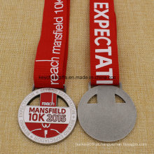 Uniqe Design medalhão Metal Mansfield Run 5k 10k medalha