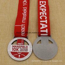 Стоимость создания эксклюзивной дизайн медальона металла Мэнсфилд запустить 5к 10к медаль