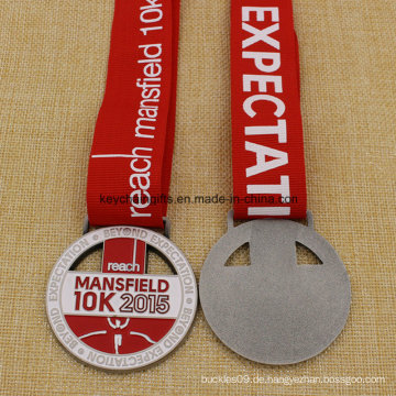Uniqe Design Medaillon Metall Mansfield Run 5k 10k Medaille