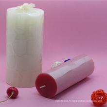 bougie pour noel / pilier bougies 3x6 dessins imprimés