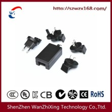 12W~24W Power Adapter with Replaceable Plug (EU/AU/U. S/UK)