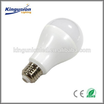 Facotry price led thermal plastic bulb 9w patented led bulb e27 TUV