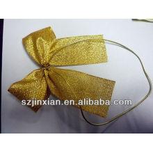Grosgrain ribbon colorful gift bow for hair /wedding