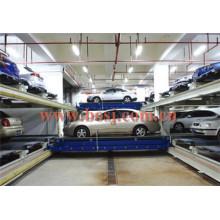 Sistema de gerenciamento de estacionamento Rim of Stereo Garage Roll formando máquina na Indonésia