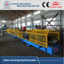 Supermarket rack shelf making machine Rack upright rollforming machine
