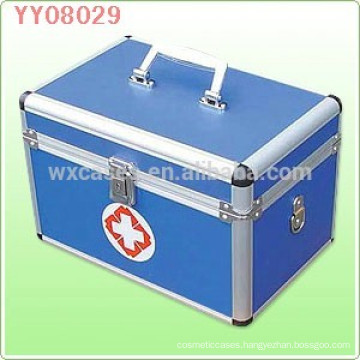 New aluminum medical box with a tray inside from China manufacturer
