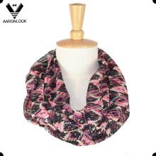 Écharpe en tissu coloré en polyester coloré de Chine